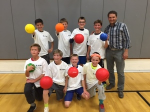 Deacons Dodgeball 2015