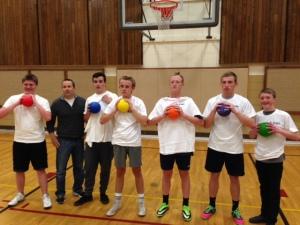 Priests Dodgeball 2015